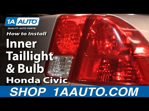 How to Replace Tail Light 03-05 Honda Civic