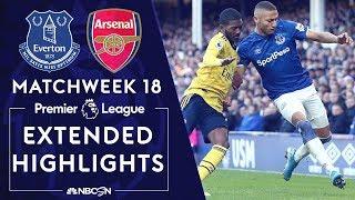 Everton v. Arsenal | PREMIER LEAGUE HIGHLIGHTS | 12/21/19 | NBC Sports