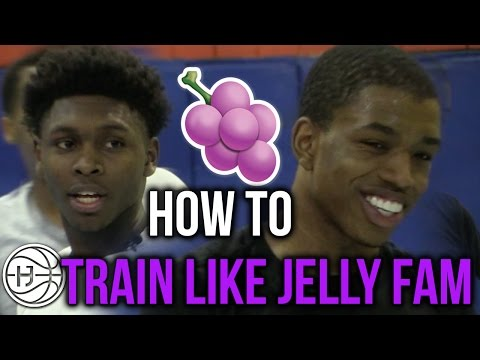 HOW TO TRAIN LIKE JELLY FAM Ft. Isaiah Washington, Jordan Walker, Markquis Nowell, and Pedro Marquez