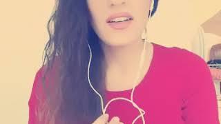 البنت البنانية نونيتا تتحدى شاب عراقي على اغنية اللة اللة يجمالك