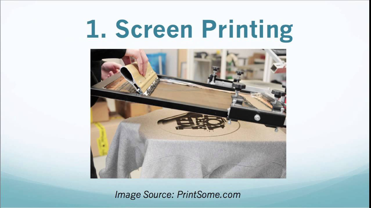Top 3 Ways To Print Quality T Shirts For Your Tshirt Business Youtube