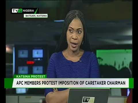 Katsina APC members protest against imposition of caretaker chairman