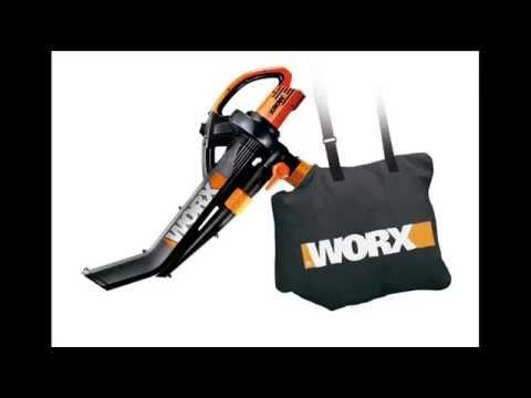 Worx Trivac Delux Blower Mulcher Leaf Blower Vacuum Best