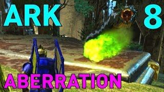 [8] Basilisk Taming And Quest For The Surface! (ARK Aberration Survival Multiplayer)