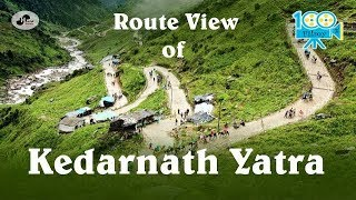 kedarnath Yatra || Dangerous Route || Horse Ride || Waterfalls || 100%Filmy