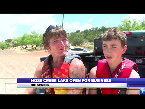 Moss Creek Lake Now Open For Business