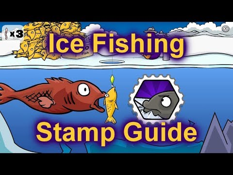 Ice Fishing Stamp Guide - Club Penguin Rewritten