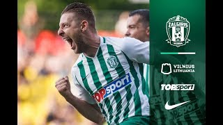 UEFA Europa League first qualifying round | Žalgiris 1:1 KÍ Klaksvík | Highlights