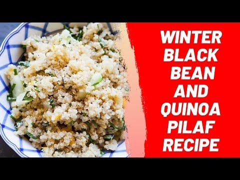 Winter Black Bean and Quinoa Pilaf Recipe