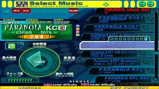 [Stepmania] SUPERNOiA (PARANOiA Collection) Full Song List