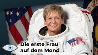 NASA schickt erste Frau auf den Mond um nach Wasser zu suchen!