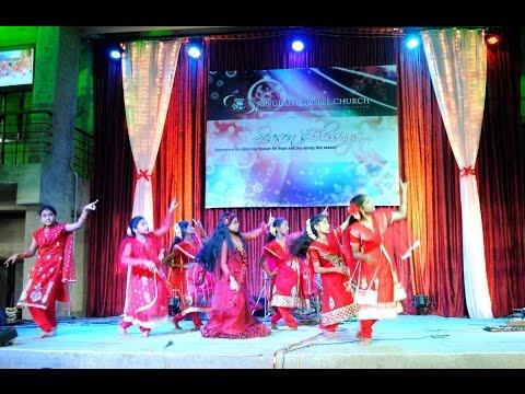 New Telugu Christmas Dance - Turpu Dikkuna Chukka Putte