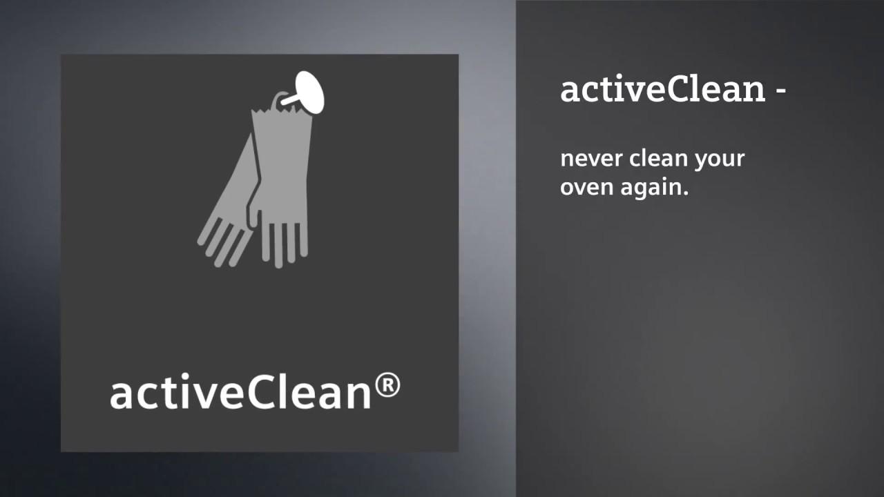 Four Siemens Avec Systeme De Nettoyage Activeclean Youtube