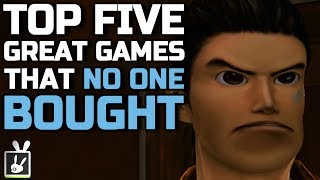 Top Five Great Games That No One Bought - rabbidluigi