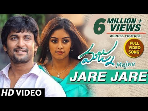 Majnu Songs | Jare Jare Full Video Song | Nani | Anu Immanuel | Gopi Sunder