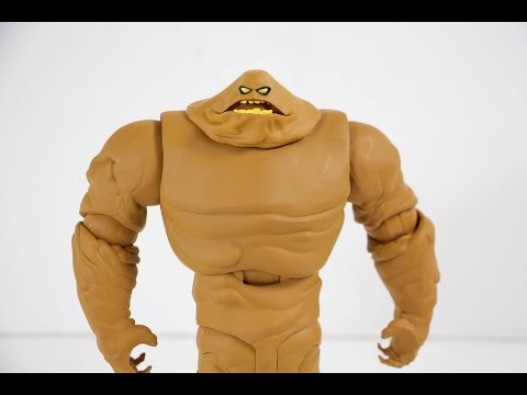 DC Collectibles Batman The Animated Series Figure - Clayface Deluxe figure review