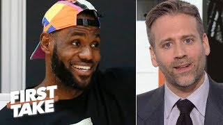 Download 'Why do the Lakers always get their man?'- Disgruntled Knicks fan Max Kellerman | First Take Mp3 and Videos