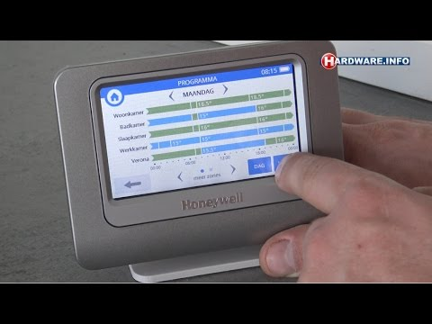 Honeywell Evohome thermostaat met zoneregeling review - Hardware.Info TV (Dutch)