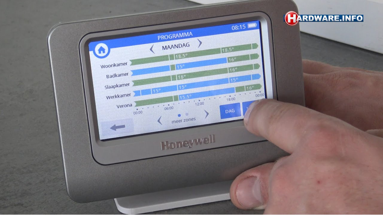 Honeywell Evohome thermostaat met zoneregeling review - Hardware ...