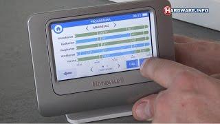 Honeywell Evohome thermostaat met zoneregeling review - Hardware.Info TV (Dutch)