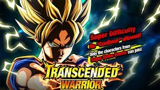 LR Goku FINAL Stage Guide! TRANSCENDED WARRIOR! Dragon Ball Z Dokkan Battle!