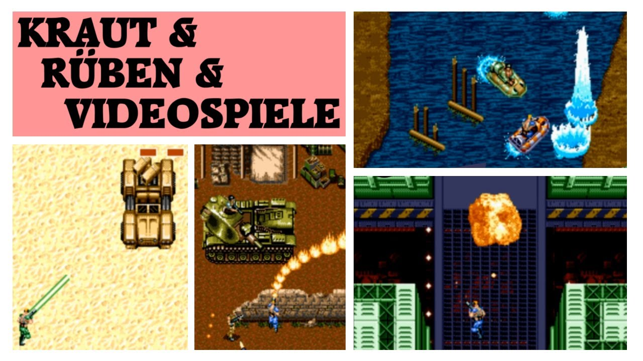Mercs (Sega Mega Drive) +Strider und Ghouls`n`Ghosts Review | Kraut & Rüben & Videospiele #87