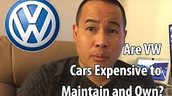 Are VW/Volkswagen cars expensive to maintain/own? VW Maintenance Cost/Ownership Cost