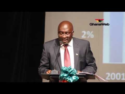 Dr.Bawumia delivers lecture on state of the Ghanaian economy.