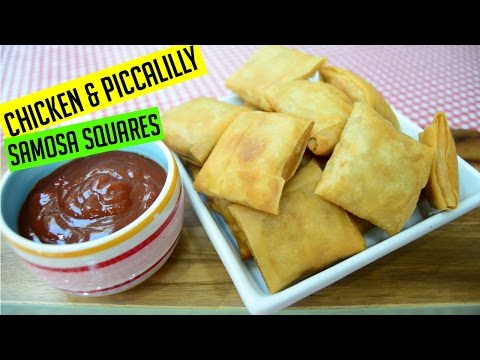 Samosa Squares Chicken & Piccalilly | Ramadan Recipes | Indian Cooking Recipes | Cook with Anisa