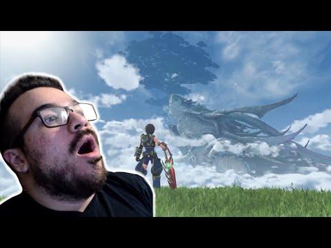 Xenoblade Chronicles 2 - Reveal Trailer REACTION [Nintendo Switch Presentation]