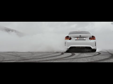 BMW M2 with an Akrapovič Exhaust System