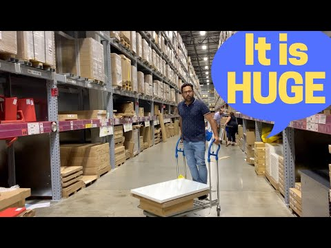 Where Canadians buy Furniture! New Vs Used furniture for students and PR at the famous Ikea Store