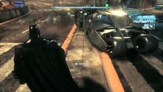 Original Arkham Asylum Suit & Tumbler - Arkham Knight PS4