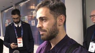 Man City 6-0 Shakhtar Donetsk - Bernardo Silva Post Match Interview- Looks Ahead To Manchester Derby