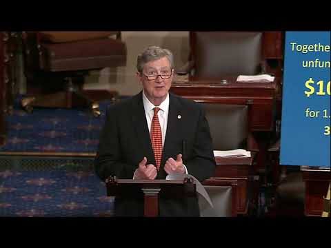 Sen. John Kennedy Floor Speech 10-3-17