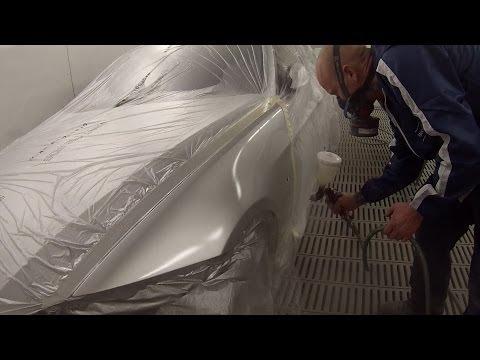 "Spray Painting Tutorial ""Titan Silver"" BMW 320i"