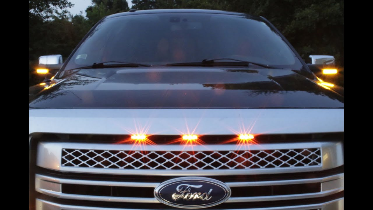 How To Install F150 04 14 Raptor Style Led Grill Lights