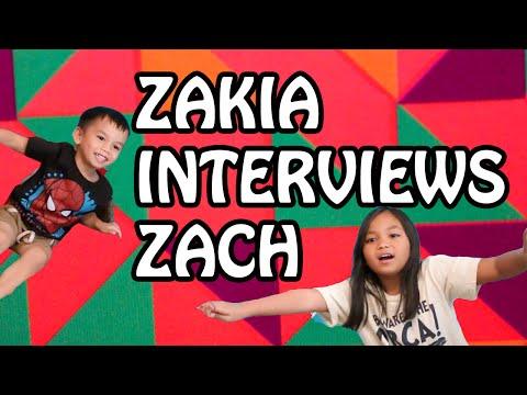Zakia & Tita: INTERVIEW WITH ZACH