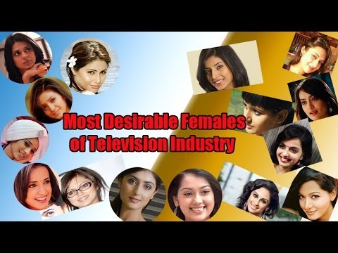Most Desirable Females of Television Industry