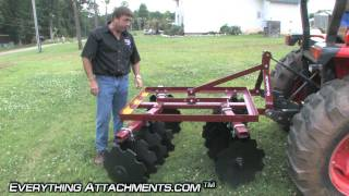 How to Use a Disc Harrow - The Gardening Series