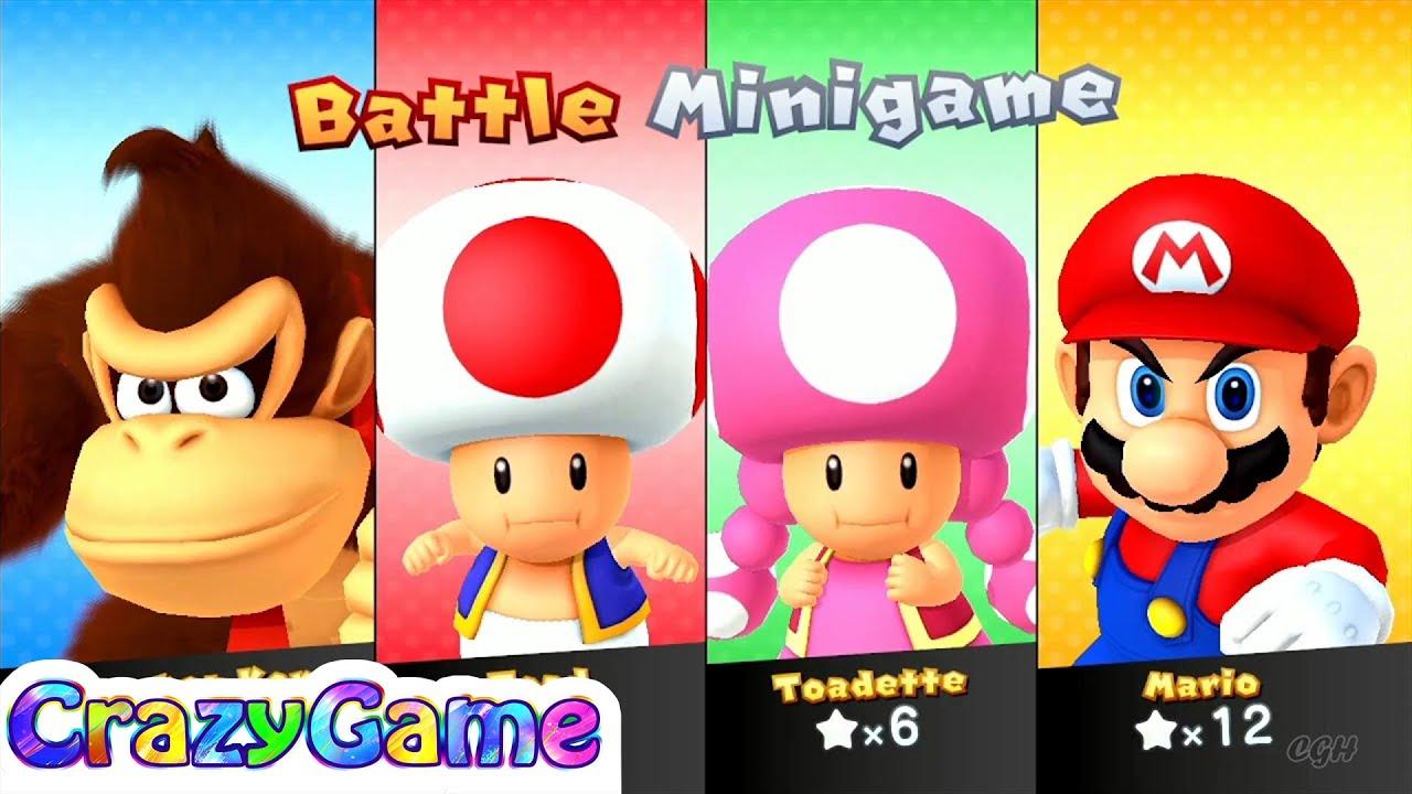 Mario Party 10 Mario Party - Mario vs Donkey Kong vs Toad ...