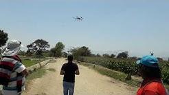 Drones para Fumigacin Agrcola SZD15 cultivo de Arroz, Rice..