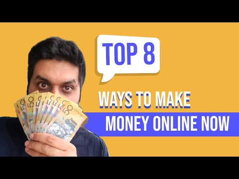Top 8 ideas to make money online as international student in Australia