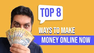 In this video, we are discussing 8 ways you can make money online as an international student australia. especially considering the current situation, man...