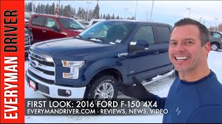 Here's the 2016 Ford F-150 4x4 on Everyman Driver