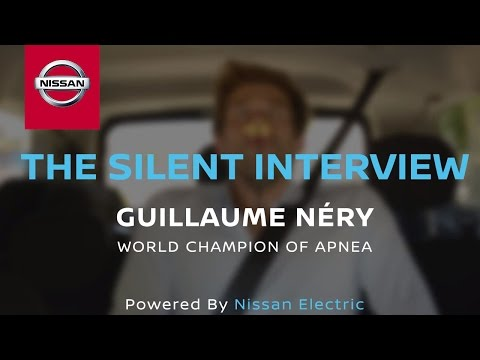 Silent Interview: Guillaume Néry in the Nissan eNV200
