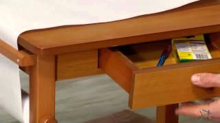 Guidecraft Art Table And Chair Set - Honey - Product Review Video
