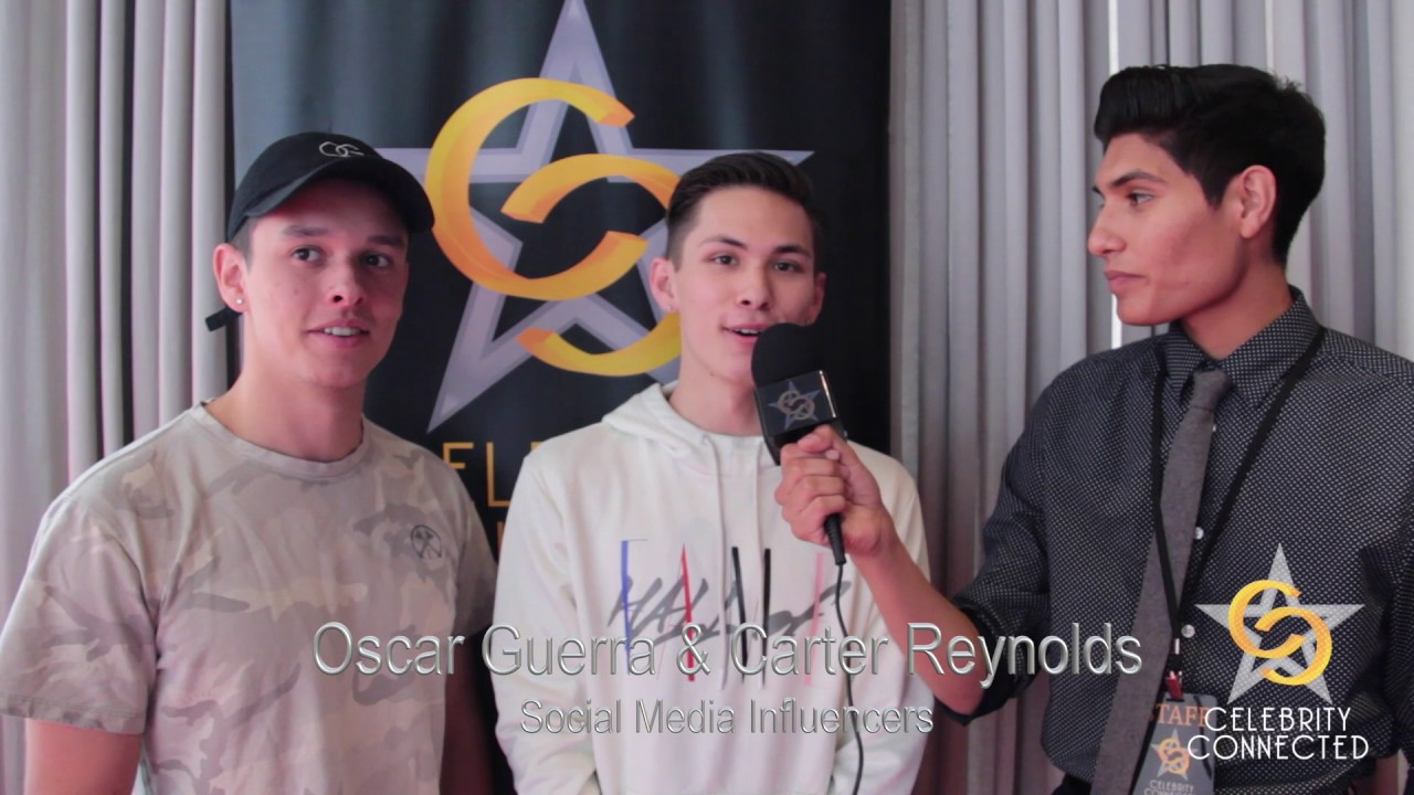 Carter Reynolds Oscar Guerra Interview With Celebrity Connected