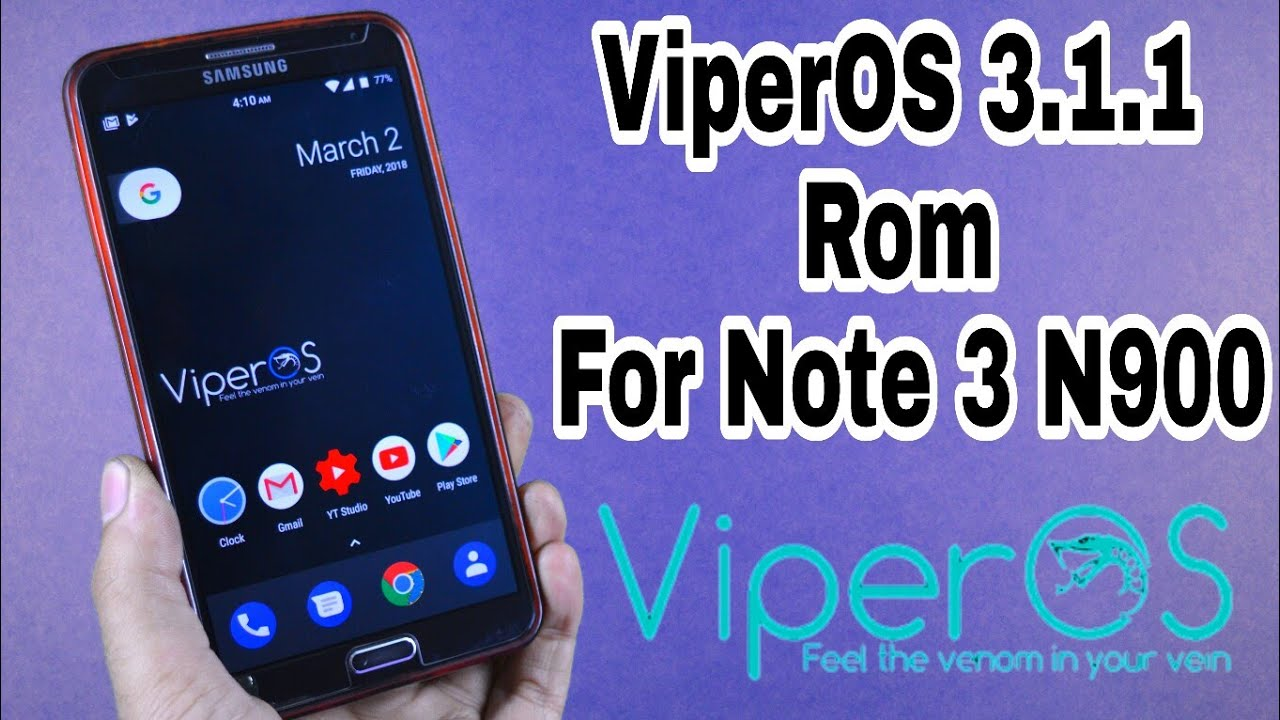 ViperOS v3 1 1 [ROM] [7 1 2] for Note 3 N900