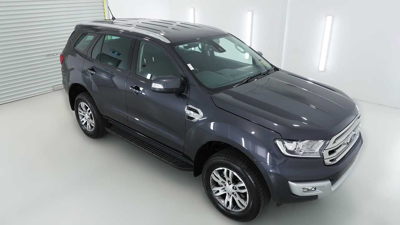 Ford Everest Trend Meteor Grey Auto Suv Wagon Nhjh